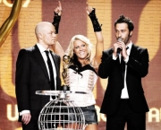Cascada, Yann Pfeifer, Manuel Reuter Best Selling Artist Germany World Music Awards 2007/ SHOW / VERLEIHUNG/ Preis/ Award im Sporting Club in Monte Carlo, Monaco am 04.11.2007 Agency People Image(c.) Michael Tinnefeld