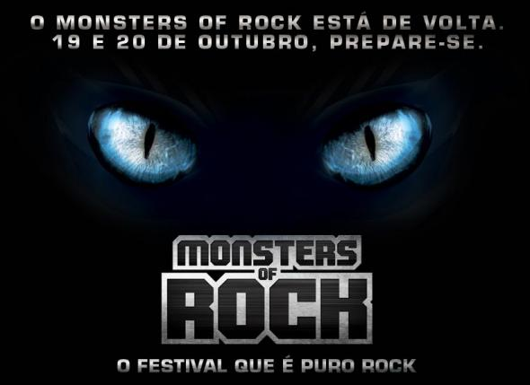 Monsters Of Rock: Festival De Rock No Brasil