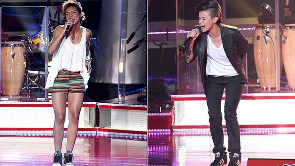 Cantores Do The Voice Brasil