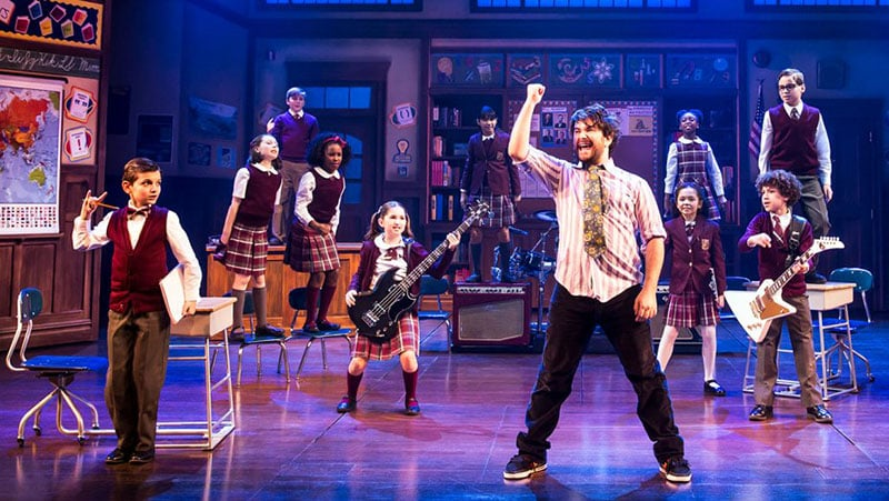 Musical da Broadway School of Rock